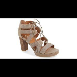 Paul Green Hana lace up heeled sandals